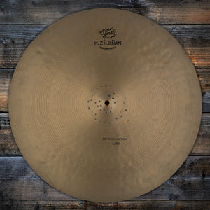 "ZILDJIAN 22"" K CONSTANTINOPLE MEDIUM THIN LOW RIDE CYMBAL (PRE-LOVED)"