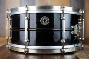 LEEDY RELIANCE 14 X 6.5 1930'S VINTAGE SNARE DRUM (PRE-LOVED)
