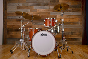 LUDWIG CLASSIC OAK 3 PIECE DRUM KIT, FAB CONFIGURATION, TENNESSEE WHISKEY STAIN