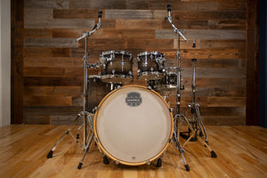 MAPEX ARMORY 5 PIECE ROCK MAPLE / BIRCH HYBRID SHELL DRUM KIT, BLACK DAWN