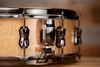 MAPEX BLACK PANTHER PEGASUS 14 X 5.5 MAPLE / WALNUT SNARE DRUM, NATURAL BURL MAPLE GLOSS