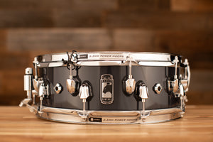MAPEX BLACK PANTHER RAZOR 14 X 5 MAPLE SNARE DRUM, DARK GREY SOLID LACQUER