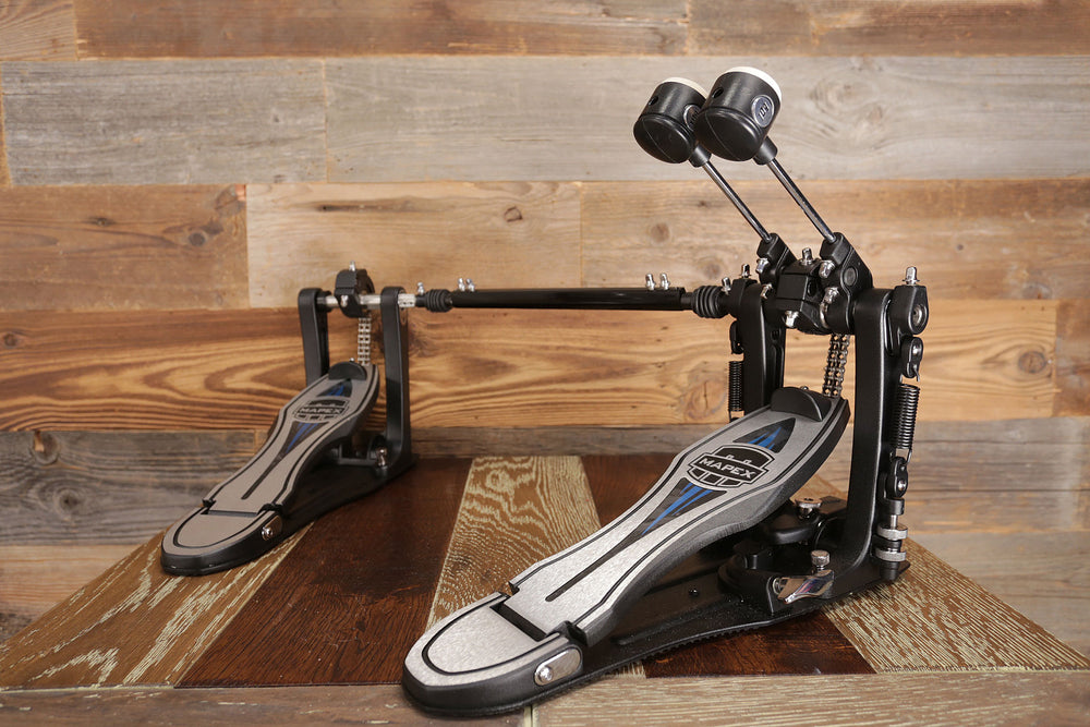 Mapex Falcon PF1000TW Double Bass Drum Pedal Interchangeable Drive Capability
