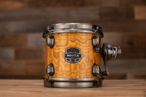 MAPEX SATURN V EXOTIC 8 X 7 TOM, AMBER MAPLE BURL