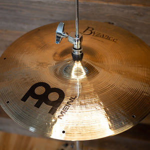 "MEINL 14"" BYZANCE BRILLIANT FAST HI-HAT CYMBALS (PAIR) THOMAS LANG SIGNATURE"