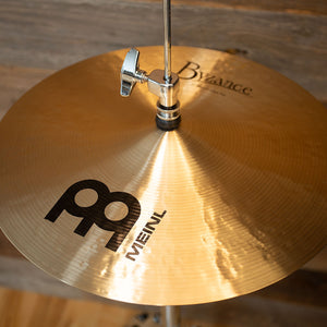 "MEINL 14"" BYZANCE TRADITIONAL MEDIUM HI-HAT CYMBALS (PAIR)"
