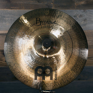 "MEINL 15"" BYZANCE BRILLIANT THIN CRASH CYMBAL"