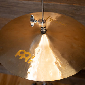 "MEINL 15"" BYZANCE JAZZ THIN HI-HAT CYMBALS (PAIR)"