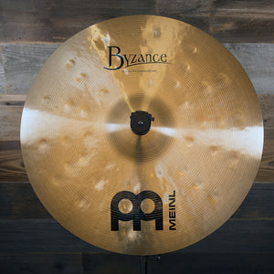 "MEINL 18"" BYZANCE TRADITIONAL EXTRA THIN HAMMERED CRASH CYMBAL"