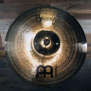 "MEINL 22"" BYZANCE BRILLIANT HEAVY HAMMERED RIDE CYMBAL"