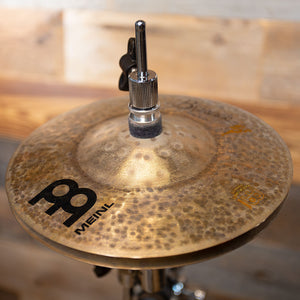 "MEINL ARTIST CONCEPT BENNY GREB CRASHER HATS 8""/8"" AC CRASHER WITH X-HAT AUXILIARY HI-HAT ARM"