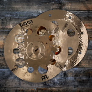 "MEINL ARTIST CONCEPT THOMAS LANG SUPER CYMBAL STACK  18""/18"" AC SUPER (PRE-LOVED)"
