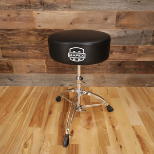 MAPEX T570A DOUBLE BRACED ROUND TOP DRUM THRONE (DRUM STOOL)