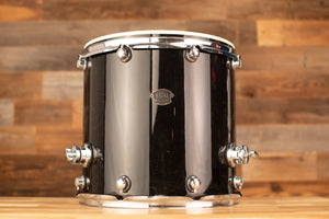 NATAL 16 X 16 ARCADIA FLOOR TOM, BLACK, NEEDS PARTS
