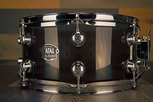 NATAL ARCADIA 13 X 6.5 TRANSPARENT GREY ACRYLIC SNARE DRUM