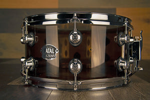 NATAL ARCADIA 14 X 6.5 TRANSPARENT GREY ACRYLIC SNARE DRUM