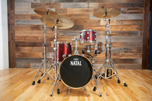 NATAL ARCADIA T6 BIRCH 3 PIECE SHELL PACK, RED SPARKLE (PRE-LOVED)