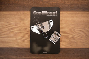 NOBLE & COOLEY COOL MOUNT, CHROME, QUICK RELEASE MEMORY LOCK TOM BRACKET