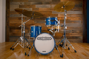 NOBLE & COOLEY HORIZON SERIES 3 PIECE BOP KIT, CAIRO BLUE HOLOGRAPHIC SPARKLE LACQUER