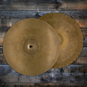 "PAISTE 13"" FORMULA 602 SOUND EDGE VINTAGE HI-HATS (PRE-LOVED)"