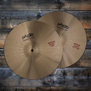 "PAISTE 14"" FORMULA 602 MEDIUM HI-HATS (HI-HAT CYMBAL PAIR) (PRE-LOVED)"