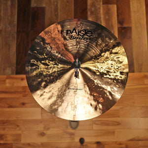 "PAISTE 14"" MASTERS DARK HI-HATS (PAIR)"