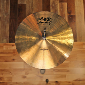 "PAISTE 14"" MASTERS THIN HI-HATS (PAIR)"