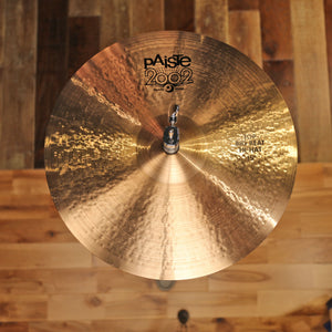 "PAISTE 15"" 2002 BLACK LABEL BIG BEAT SERIES HI-HATS (PAIR)"