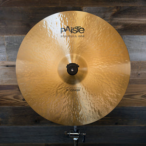 "PAISTE 16"" FORMULA 602 MODERN ESSENTIALS CRASH CYMBAL SN0002"