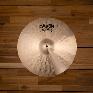 "PAISTE 16"" MASTERS DARK CRASH CYMBAL SN0205"