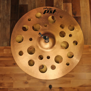 "PAISTE 16"" PSTX SWISS HATS (HI-HAT PAIR) SN0112"