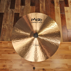"PAISTE 17"" FORMULA 602 MODERN ESSENTIALS CRASH CYMBAL SN0010"