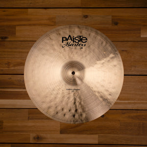 "PAISTE 17"" MASTERS DARK CRASH CYMBAL SN0202"