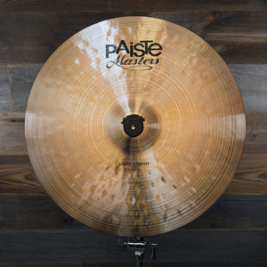 "PAISTE 17"" MASTERS DARK CRASH CYMBAL"