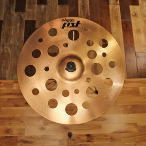 "PAISTE 18"" PSTX SWISS THIN CRASH CYMBAL SN0056"