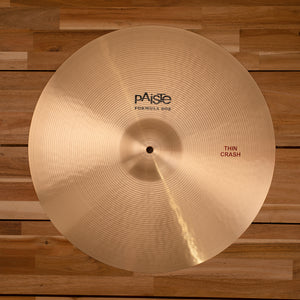 "PAISTE 19"" FORMULA 602 THIN CRASH CYMBAL"