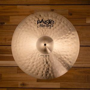 "PAISTE 19"" MASTERS DARK CRASH CYMBAL"