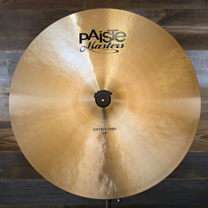 "PAISTE 19"" MASTERS EXTRA THIN CRASH CYMBAL"