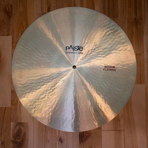 "PAISTE 20"" FORMULA 602 SERIES MEDIUM FLAT RIDE CYMBAL (EX GONG ROOM)"