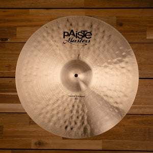 "PAISTE 20"" MASTERS DARK CRASH CYMBAL SN0208"