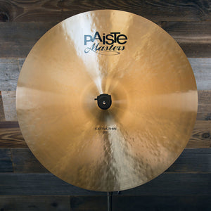 "PAISTE 20"" MASTERS EXTRA THIN CRASH CYMBAL"