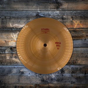 "PAISTE 10"" 2002 SERIES MEGA BELL (PRE-LOVED)"