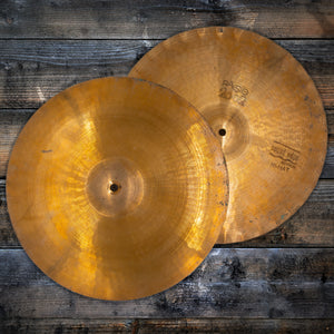 "PAISTE 15"" 2002 SOUND EDGE HI-HAT CYMBALS (PRE-LOVED)"