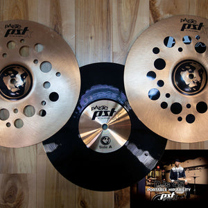 Paiste PSTX Daru Jones DJ45 Full 4 Piece Cymbal Box Set