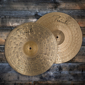 "PAISTE 14"" SIGNATURE DARK ENERGY MARK 1 HI-HAT CYMBALS (PRE-LOVED) SN0051"