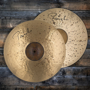 "PAISTE 14"" SIGNATURE SERIES LIGHT DARK MK1 HI-HAT CYMBALS (PAIR) (PRE-LOVED) SN0011"