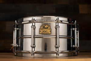 PEARL 14 X 6.5 IAN PAICE SIGNATURE SERIES CHROME PLATED SNARE DRUM (PRE-LOVED)