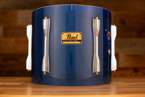 PEARL PRESTIGE STUDIO BLX 13 X 11 BIRCH TOM, CIRCA EARLY 90'S SHEER BLUE (PRE-LOVED)