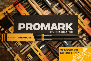 PROMARK CLASSIC 2B ACTIVEGRIP DRUM STICKS