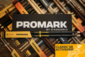 PROMARK CLASSIC 5B ACTIVEGRIP DRUM STICKS